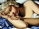 The Sleeping Girl (Kizette) I Giclee Print