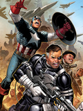Secret Warriors No.18: Nick Fury, Captain America, Dum Dum Dugan