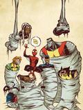 Marvel Adventures Spider-Man No.59 Cover: Spider-Man