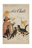 Buy Des Chats Book Cover at AllPosters.com