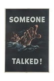 Someone Talked! Poster