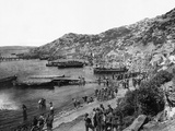 Troops Landing at Anzac Cove, Gallipoli