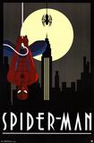 Spider-Man Art Deco