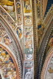 Buy Italy, Siena, Siena Cathedral, Baptistery Apse, Fresco, Interior at AllPosters.com
