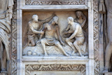 Buy Italy, Milan, Milan Cathedral, Statues and Reliefs. Episodes and symbols from the Old Testament at AllPosters.com