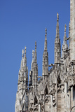 Buy Italy, Milan, Milan Cathedral, Spires, Pinnacles and Statues on Spires at AllPosters.com