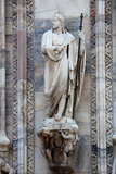 Buy Italy, Milan, Milan Cathedral, Statues and Reliefs at AllPosters.com