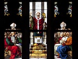 Buy Italy, Milan, Milan Cathedral, Window 32, Life of St. Ambrose, Meeting with the Emperor Theodosius at AllPosters.com