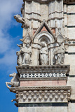 Buy Italy, Siena, Siena Cathedral, Statues and Gargoyles at AllPosters.com