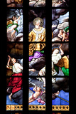 Buy Italy, Milan, Milan Cathedral, Window 12, Stories of St. Giovanni Bono (above his altar) at AllPosters.com
