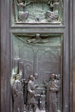 Buy Italy, Siena, Siena Cathedral, Bronze Door Relief at AllPosters.com