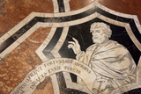 Buy Italy, Siena, Siena Cathedral, Museum, Inlaid marble Mosaic Floor at AllPosters.com