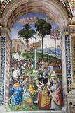 Buy Italy, Siena, Siena Cathedral, Enea Silvio Piccolomini and Emperor Frederick III at AllPosters.com