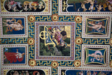 Buy Italy, Siena, Siena Cathedral, The Piccolomini Library, Fresco Ceiling at AllPosters.com