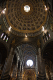 Buy Italy, Siena, Siena Cathedral, Dome Ceiling, Interior at AllPosters.com