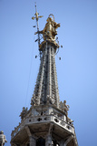 Buy Italy, Milan, Milan Cathedral, Spires, Pinnacles and Statues on Spires, The Madonnina at AllPosters.com