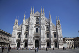 Buy Italy, Milan, Milan Cathedral, Facade at AllPosters.com
