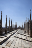 Buy Italy, Milan, Milan Cathedral, Roof Walk at AllPosters.com