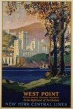 West Point - New York Central Lines Travel Poster