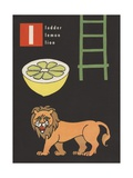 L Is for Ladder Lemon Lion