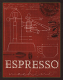 Buy Coffee Blueprint IV v2 at AllPosters.com