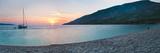 Brac Island, Zlatni Rat Beach at Sunset, Bol, Dalmatian Coast, Adriatic, Croatia, Europe