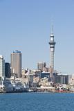 Auckland City Skyline, North Island, New Zealand, Pacific
