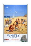 Whitby Travel Poster