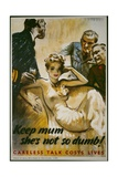 Keep Mum, She's Not So Dumb! Poster