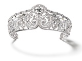 Foliates Diamond Tiara