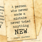Never Made a Mistake - Albert Einstein Classic Quote Everybody is a Genius Life Is Like a Bicycle Albert Einstein Great Minds Motivational Poster The Wisdom of a Genius Nebula - Einstein Quote Albert Einstein Genius Quote Imagination Nebula - Albert Einstein Quote Einstein Curiosity albert+einstein+quotes