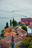 Buy High Angle View of Buildings in a Town at the Lakeside, Varenna, Lake Como, Lombardy, Italy at AllPosters.com
