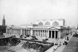 Exterior View of Pennsylvania Railroad Station