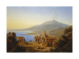 Buy Teatro Greco, Taormina, with Etna Beyond at AllPosters.com
