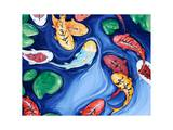 Buy Koi Fish Dreams Blue at AllPosters.com