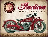Indian Scout Tin Sign Tin Sign