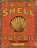 Shell Auto Oil Tin Sign Tin Sign