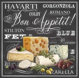 Gourmet Cheese Collection Art Print