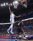 Feb 20, 2014, Miami Heat vs Oklahoma City Thunder - Kevin Durant Photographic Print