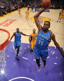 Feb 13, 2014, Oklahoma City Thunder vs Los Angeles Lakers - Kevin Durant Photographic Print