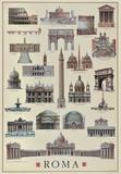 Buy Architettura Roma at AllPosters.com