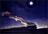 LMS Railway Night Train Scotland