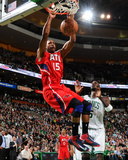 Mar 8, 2013, Atlanta Hawks vs Boston Celtics - Al Horford Photographic Print