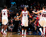 Dec 13, 2013, Washington Wizards vs Atlanta Hawks - Al Horford Photographic Print