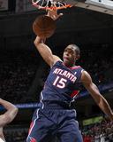 Mar 24, 2013, Atlanta Hawks vs Milwaukee Bucks - Al Horford Photographic Print