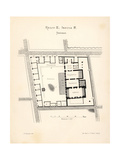 Buy Map of the Thermae (Hot Baths), Pompeii at AllPosters.com