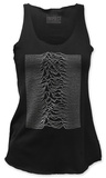 Juniors Tank Top: Joy Division - Unknown Pleasures