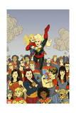 Captain Marvel #17 Cover: Captain Marvel