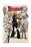 Fearless Defenders #8 Cover: Valkyrie