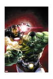 Indestructible Hulk #2 Cover: Hulk, Iron Man